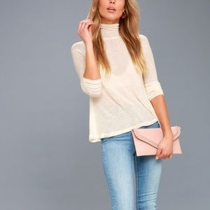 NEW Free People Cream Weekend Snuggles